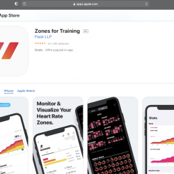 Zones for Training per iPhone ed Apple Watch