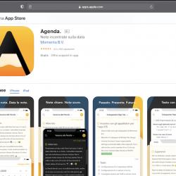 Agenda. App per iPhone, iPad e Mac