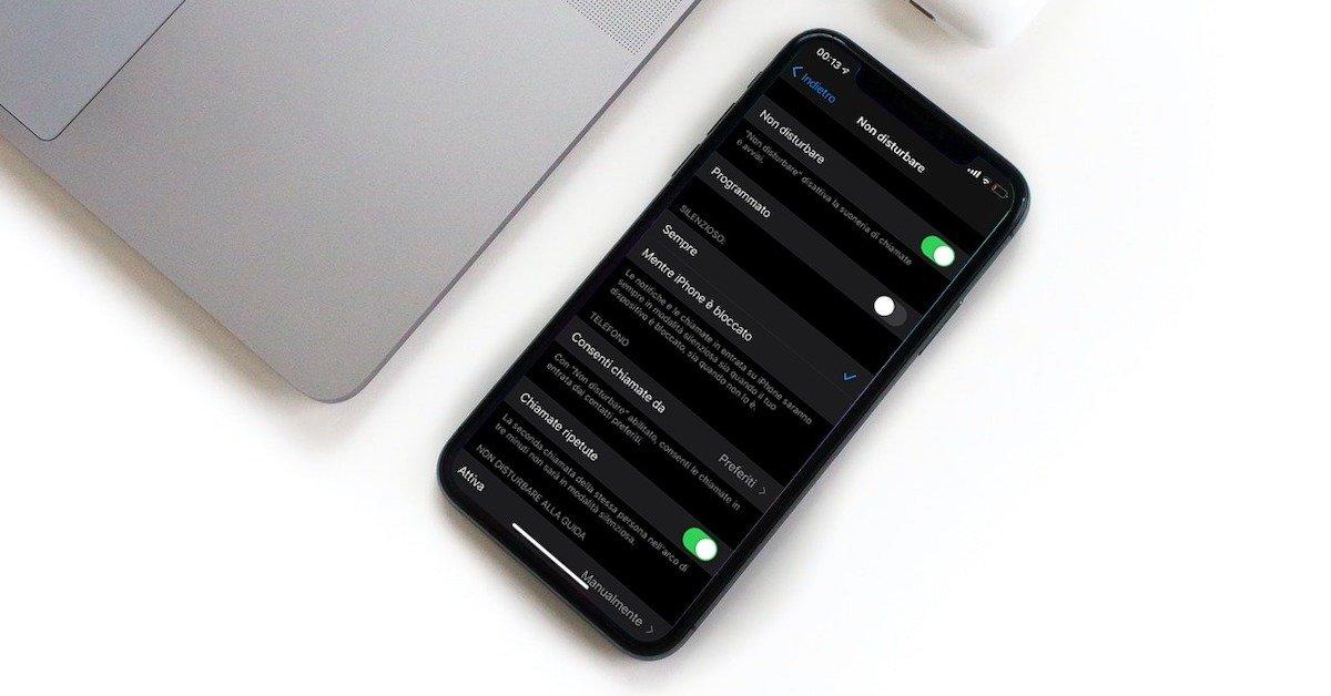 ridurre le distrazioni digitali su iPhone